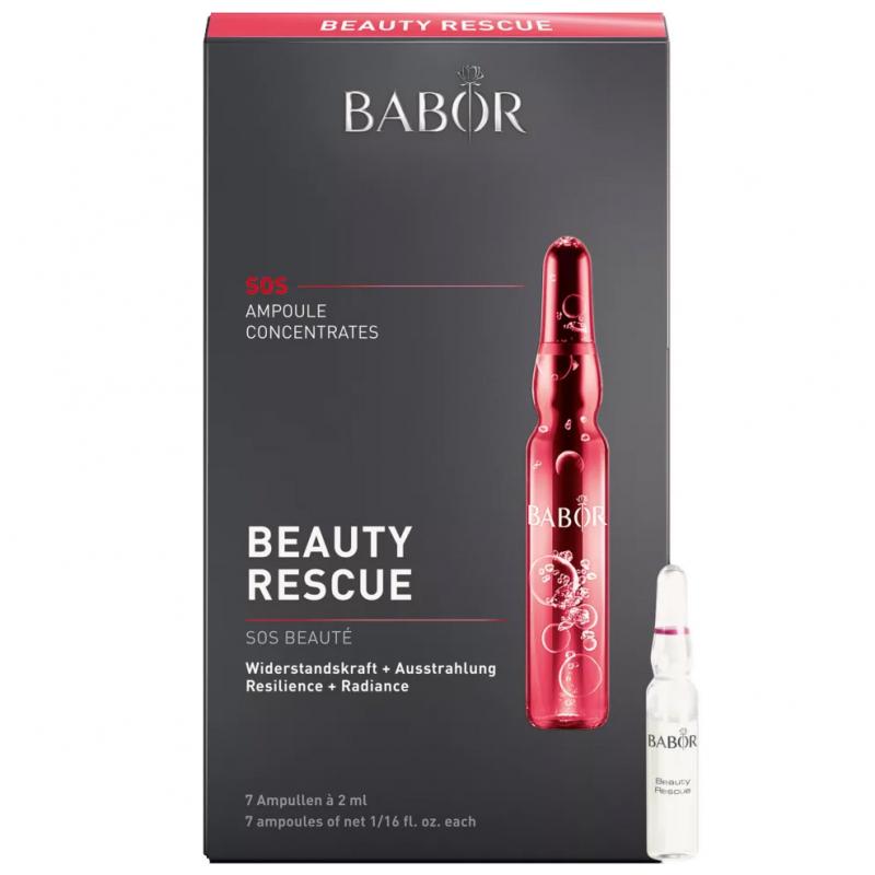 Babor Ampoule Concentrates Beauty Rescue (7X2ml) i gruppen Hudvård / Ansiktsserum & olja / Ansiktsserum hos Bangerhead (B043001)