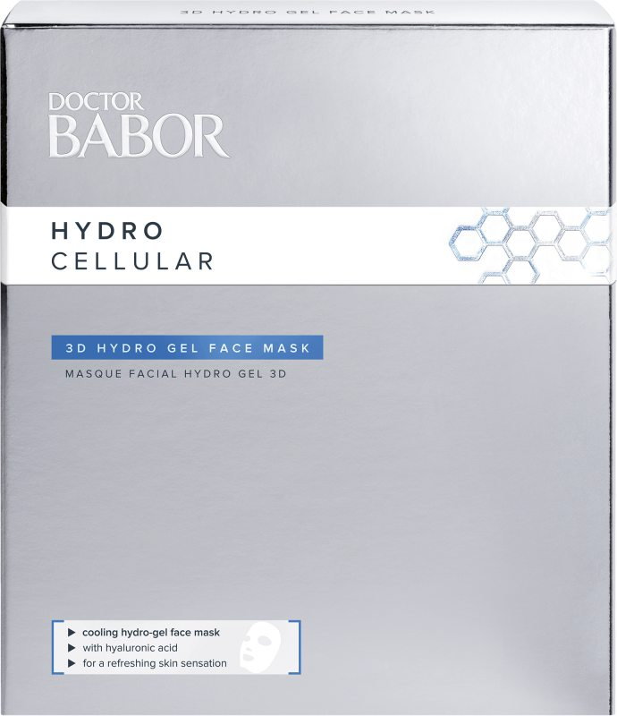 Babor Doctor Babor Hydro Cellular 3D Hydro Gel Face Mask ryhmässä Ihonhoito / Kasvonaamiot / Kangasnaamiot at Bangerhead.fi (B043039)