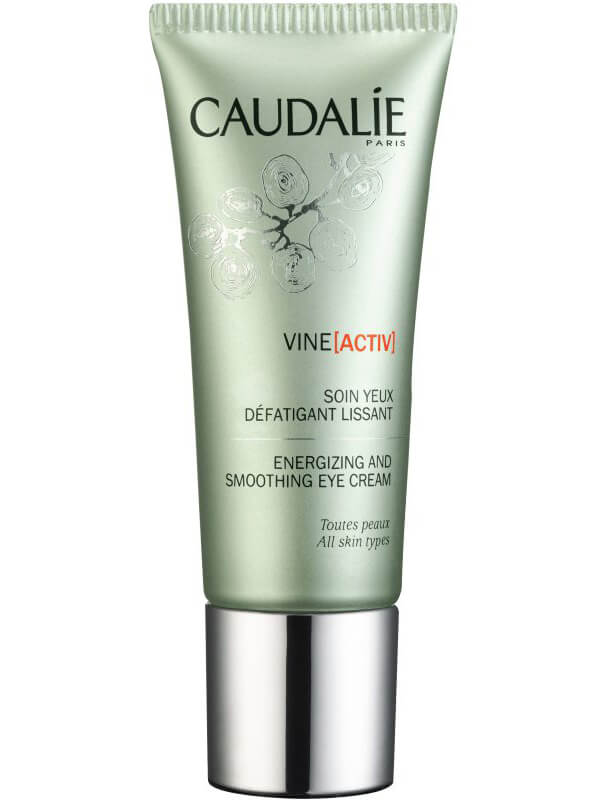 Caudalie Vineactiv Energizing And Smoothing Eye Cream (15ml) i gruppen Hudpleie / Øyne / Øyekrem hos Bangerhead.no (B043056)