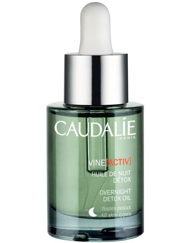 Caudalie Vineactiv Overnight Detox Oil (30ml) i gruppen Hudvård / Ansiktsserum & olja / Ansiktsolja  hos Bangerhead (B043058)