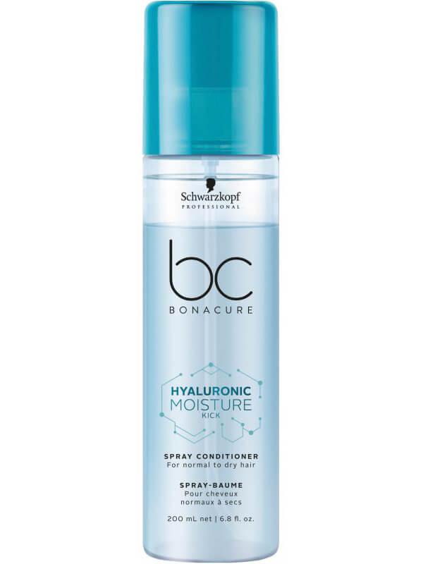 Schwarzkopf Professional BC Hyaluronic Moisure Kick Spray Conditioner (200ml) i gruppen Hårpleie / Shampoo & balsam / Leave-in-balsam hos Bangerhead.no (B043213)
