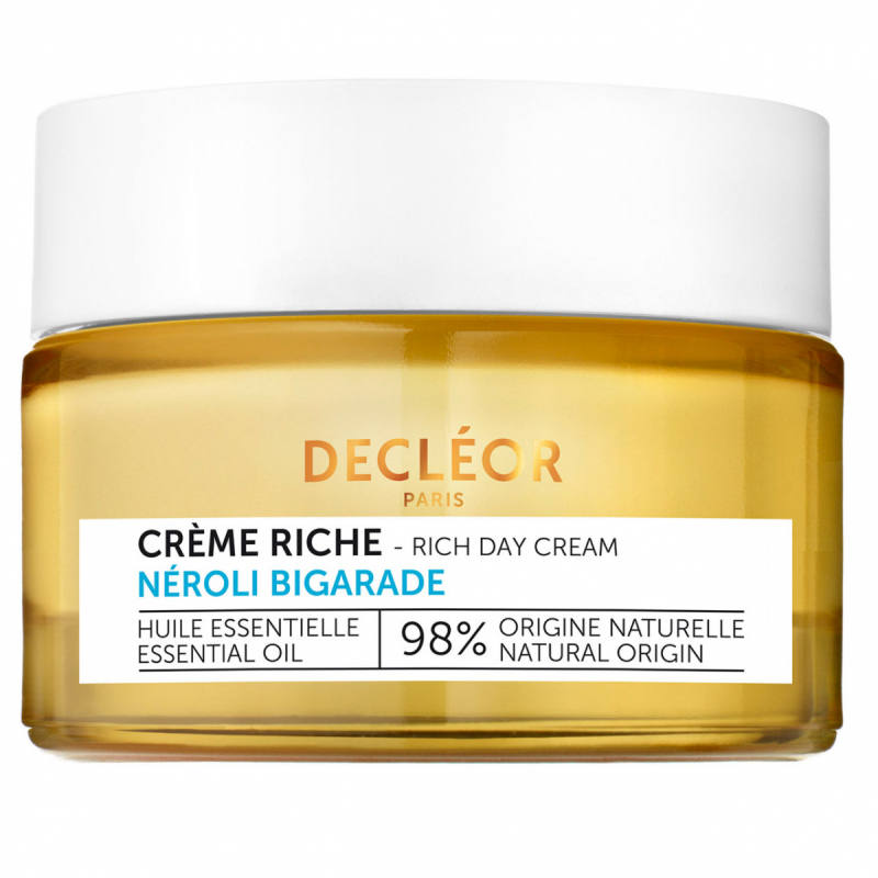 Decleor Hydra Floral Anti-Pollution Hydrating Rich Cream (50ml) i gruppen Hudvård / Ansiktsåterfuktning / Dagkräm hos Bangerhead (B043258)