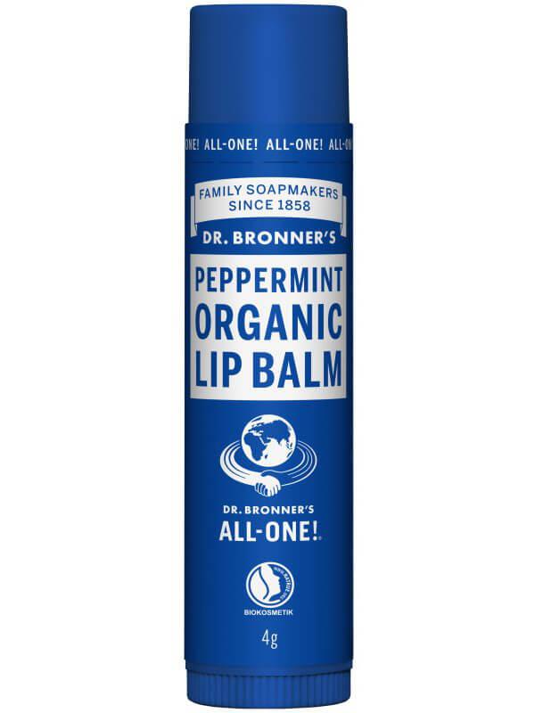 Dr. Bronner's Lip Balm Peppermint ryhmässä Ihonhoito / Huulet / Huulivoiteet at Bangerhead.fi (B043265)