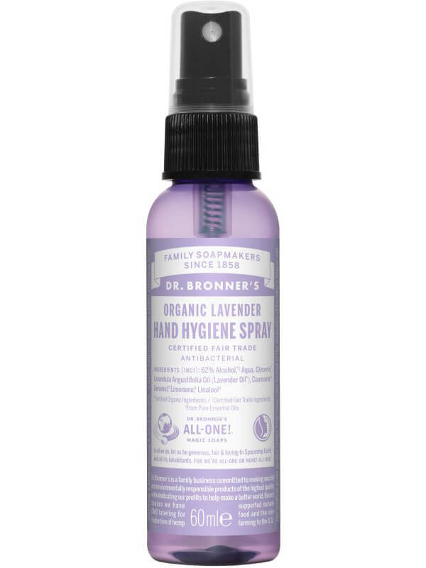 Dr. Bronner's Lavender Hand Sanitizer (60ml) i gruppen Kroppsvård / Handvård & fotvård / Handdesinfektion hos Bangerhead (B043266)