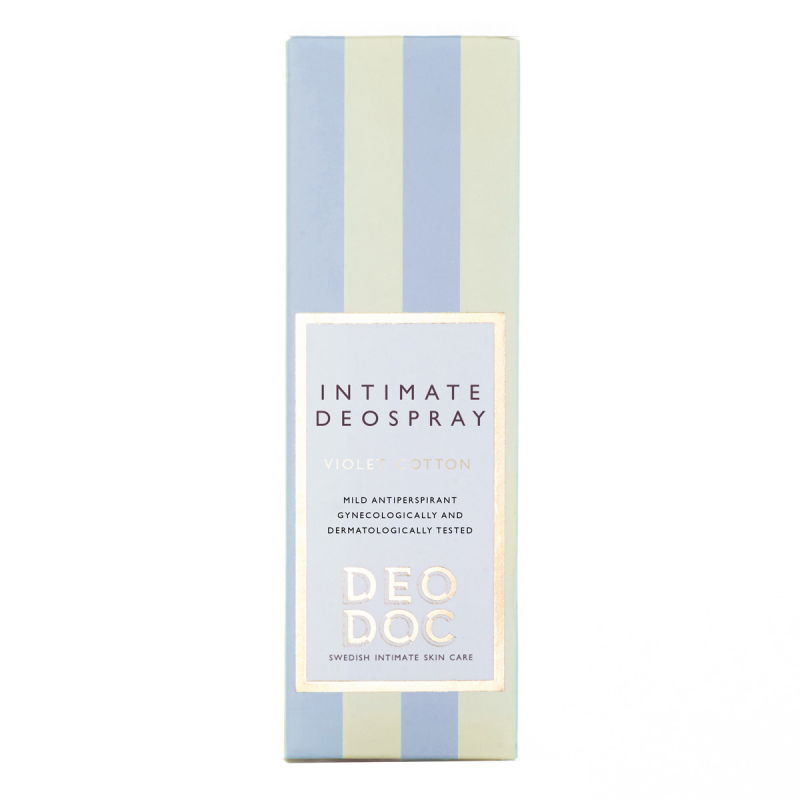 Deodoc Deospray Intimate Violet Cotton (50ml) i gruppen Kroppsvård / Intimprodukter hos Bangerhead (B043284)