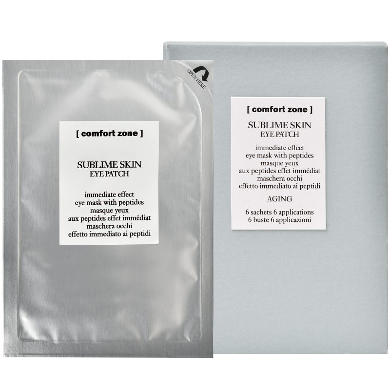 comfort zone Sublime Skin Eye Patch (6Pcs) i gruppen Hudvård / Ögonvård / Ögonmask hos Bangerhead (B043452)
