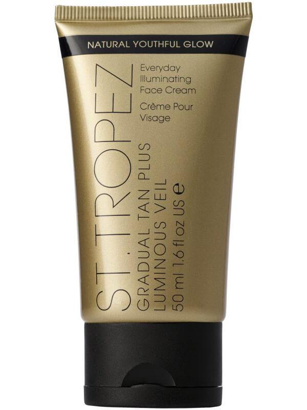 St. Tropez Gradual Tan Plus Luminous Veil Face Cream (50ml) ryhmässä Ihonhoito / Aurinkotuotteet kasvoille / Itseruskettavat kasvoille at Bangerhead.fi (B043511)