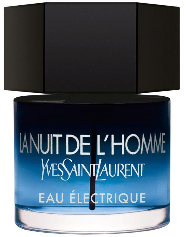 Yves Saint Laurent La Nuit De L'Homme Eau Electrique EdT ryhmässä Tuoksut / Miesten tuoksut / Eau de Toilette miehille at Bangerhead.fi (B043612r)