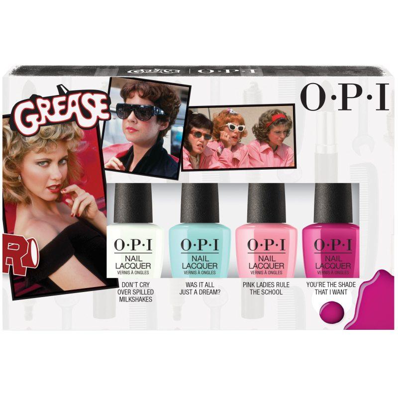 OPI Grease Collection 4pcs Mini Pack ryhmässä Kampanjat / Outlet at Bangerhead.fi (B044473)