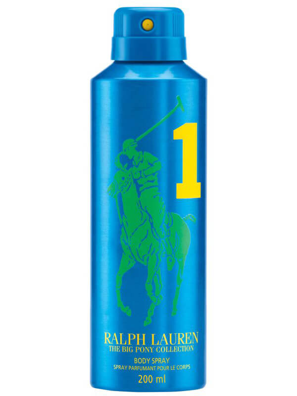 Ralph Lauren Big Pony Men #1 Blue Body Spray (200ml) ryhmässä Tuoksut / Miesten tuoksut / Eau de Toilette miehille at Bangerhead.fi (B044624)