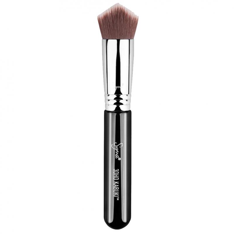 Sigma Beauty 3DHD Kabuki Brush Black ryhmässä Meikit / Siveltimet & tarvikkeet / Kasvomeikkisiveltimet at Bangerhead.fi (B044629)