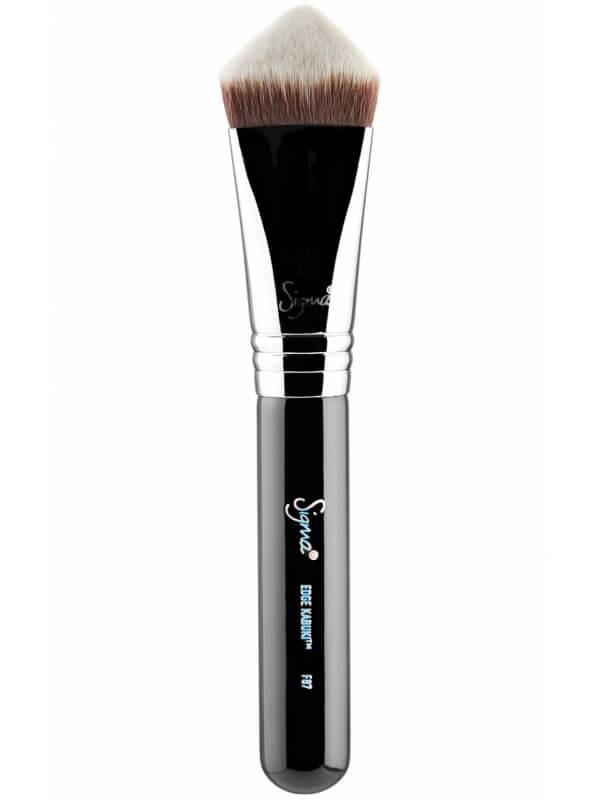 Sigma Beauty F87 Edge Kabuki Brush ryhmässä Meikit / Siveltimet & tarvikkeet / Kasvomeikkisiveltimet at Bangerhead.fi (B044688)