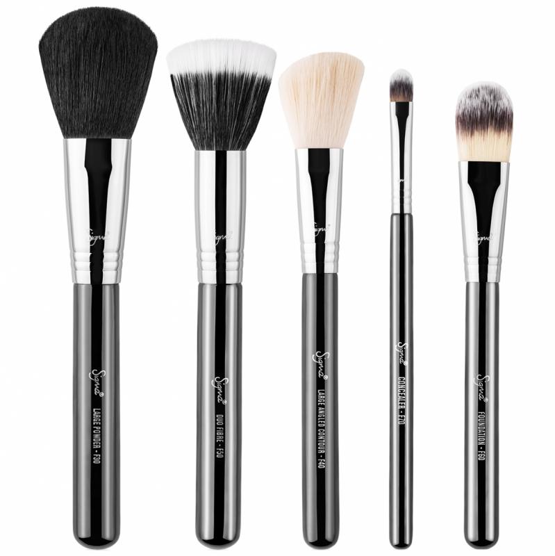 Sigma Beauty Basic Face Kit i gruppen Makeup / Sminkborstar / Sminkborstar i set hos Bangerhead (B044690)