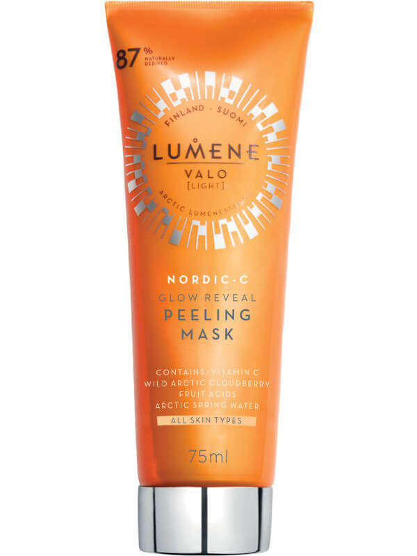 Lumene Valo Glow Reveal Peeling Mask (75ml) i gruppen Hudpleie / Ansiktsmaske / Peel off-maske hos Bangerhead.no (B044806)