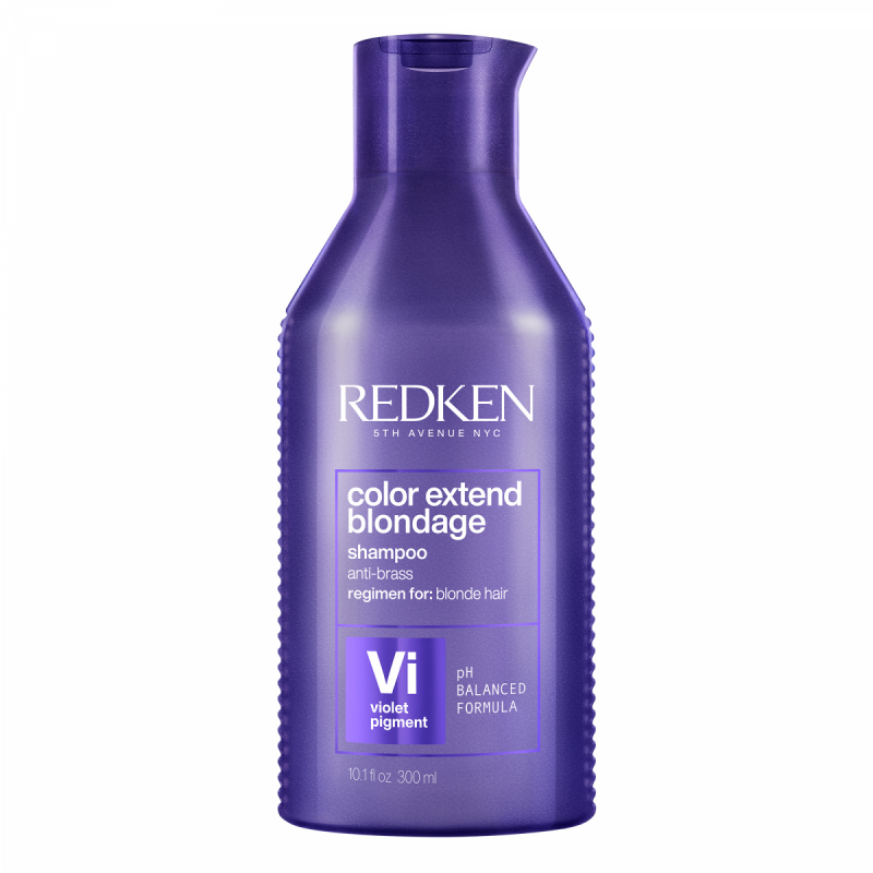 Redken Color Extend Blondage Shampoo (300ml) ryhmässä Hiustenhoito / Shampoot & hoitoaineet / Hopeashampoot at Bangerhead.fi (B045076)