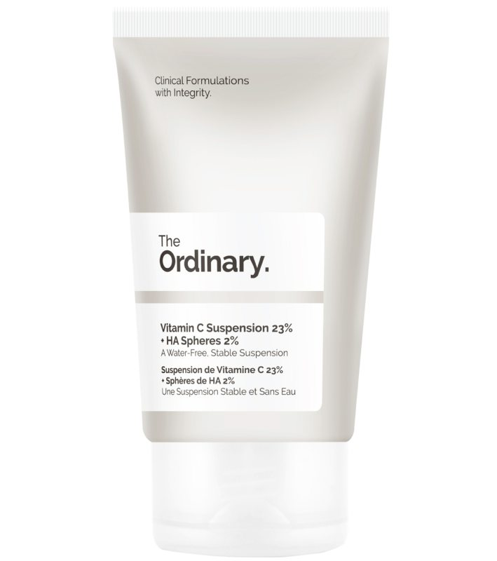 The Ordinary Vitamin C Suspension 23% + Ha Spheres 2% (30ml) i gruppen Hudvård / Ansiktsåterfuktning / Dagkräm hos Bangerhead (B045290)