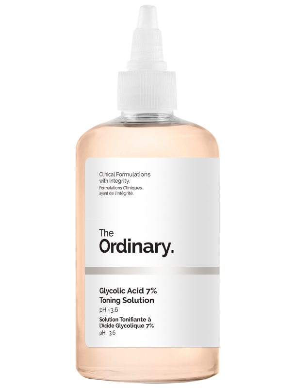 The Ordinary Glycolic Acid 7% Toning Solution (240ml) ryhmässä Ihonhoito / Kasvojen kuorinta / Kemiallinen kuorinta at Bangerhead.fi (B045293)