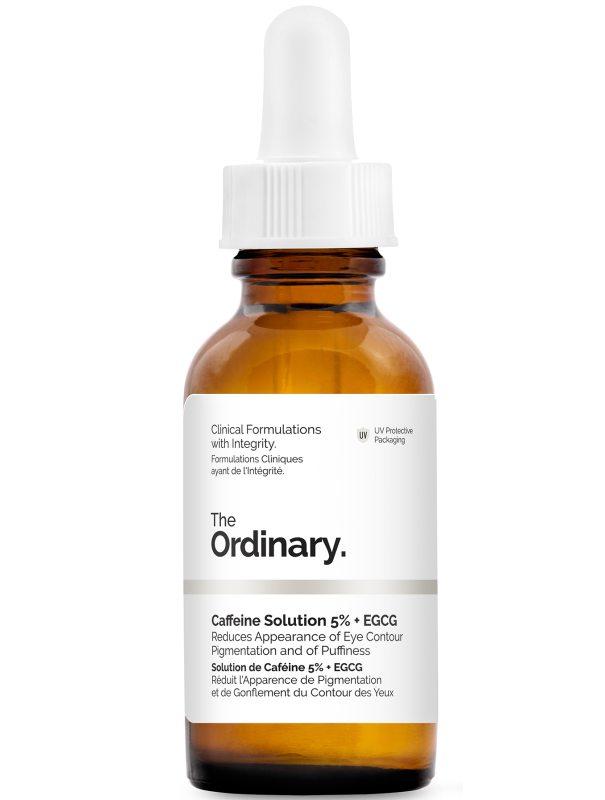 The Ordinary Caffeine Solution 5% + Egcg (30ml) i gruppen Hudvård / Ansiktsåterfuktning / Ögonkräm hos Bangerhead (B045311)