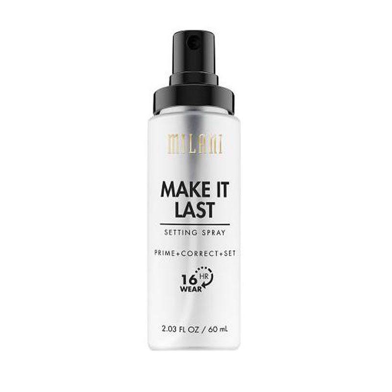 Milani Make It Last Setting Spray Prime + Correct + Set ryhmässä Meikit / Pohjameikki / Kiinnityssuihkeet at Bangerhead.fi (B045358)