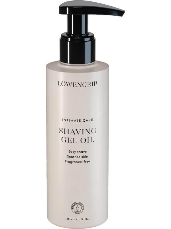 Löwengrip Intimate Care Shaving Gel Oil ryhmässä Vartalonhoito & spa / Vartalon puhdistus / Intiimituotteet at Bangerhead.fi (B045685)