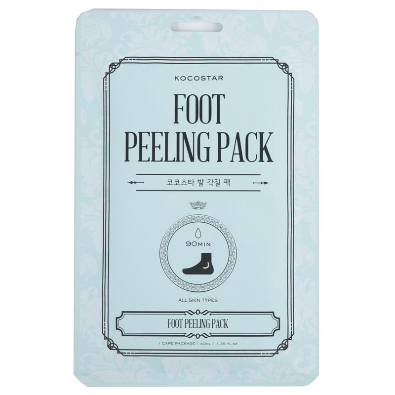 KOCOSTAR Foot Peeling Pack i gruppen Kroppsvård / Handvård & fotvård / Handmasker & fotmasker hos Bangerhead (B045766)