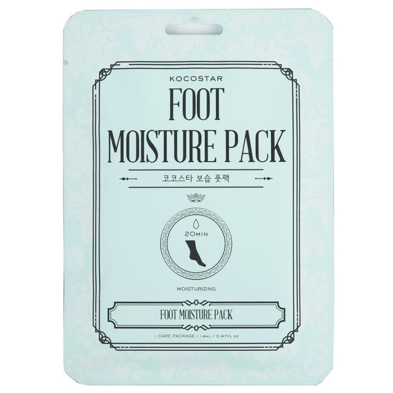 KOCOSTAR Foot Moisture Pack ryhmässä Vartalonhoito  / Kädet & jalat / Käsinaamiot & jalkanaamiot at Bangerhead.fi (B045767)