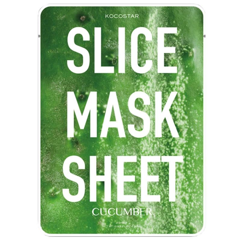 KOCOSTAR Slice Mask Sheet ryhmässä Ihonhoito / Kasvonaamiot / Kangasnaamiot at Bangerhead.fi (B045774r)