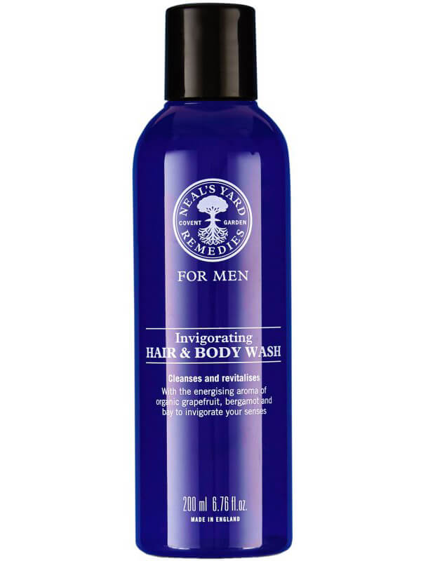 Neal's Yard Remedies Invigorating Hair & Body Wash (200ml) ryhmässä Vartalonhoito  / Vartalonpuhdistus & -kuorinta / Suihkusaippua at Bangerhead.fi (B046106)