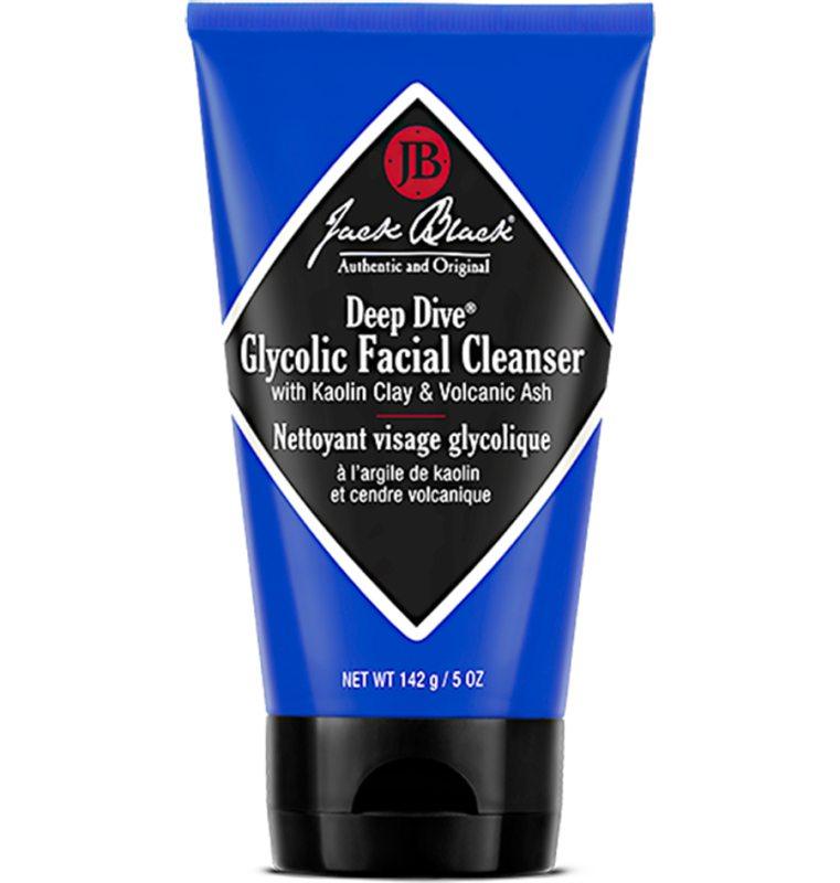 Jack Black Deep Dive Glycolic Facial Cleanser (147ml) i gruppen Man / Hudvård / Ansiktsrengöring hos Bangerhead (B046225)