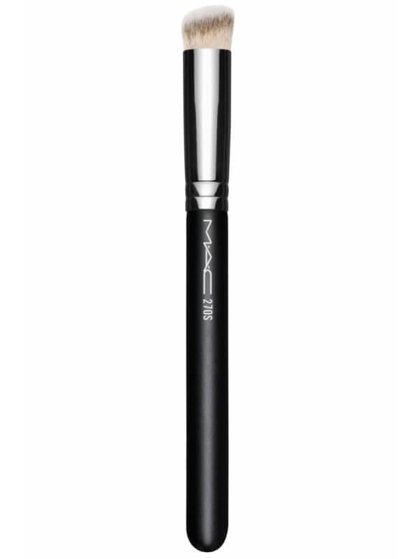 MAC Cosmetics 270S Mini Rounded Slant Brush i gruppen Makeup / Makeupbørster / Concealerbørster hos Bangerhead.no (B046316)