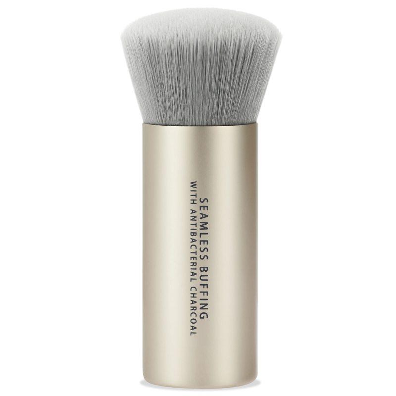 bareMinerals Seamless Buffing Brush With Antibacterial Charcoal i gruppen Smink / Sminkborstar / Puderborste hos Bangerhead (B046334)