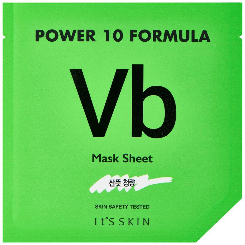 It'S SKIN Power 10 Formula Mask Sheet Vb ryhmässä Ihonhoito / K-Beauty Ihonhoito / Kasvonaamiot at Bangerhead.fi (B046634)
