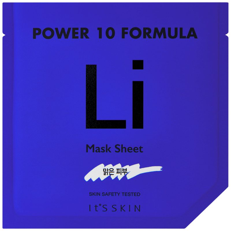 It'S SKIN Power 10 Formula Mask Sheet Li ryhmässä K-Beauty / Korealainen ihonhoitorutiini / 7. Kangasnaamio at Bangerhead.fi (B046637)
