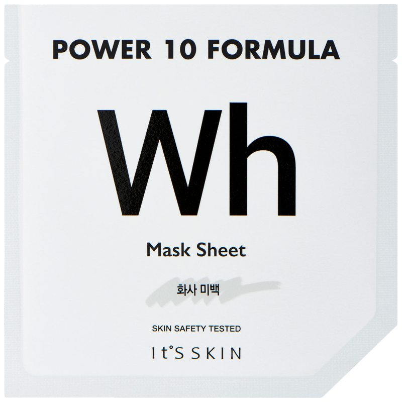 ItS SKIN Power 10 Formula Mask Sheet Wh ryhmässä K-Beauty / Korealainen ihonhoitorutiini / 7. Kangasnaamio at Bangerhead.fi (B046638)