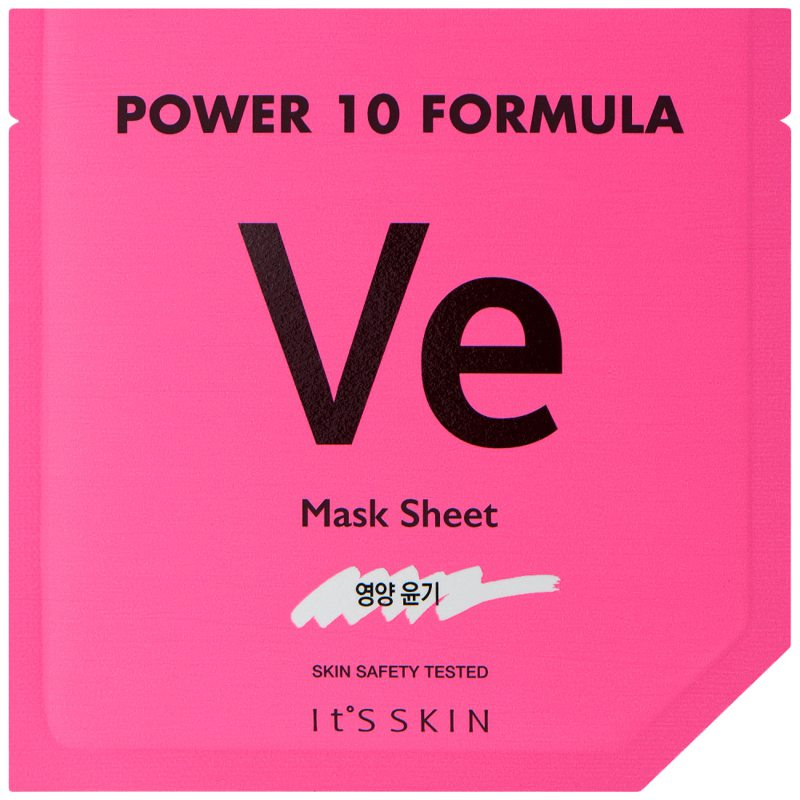 It'S SKIN Power 10 Formula Mask Sheet Ve ryhmässä Ihonhoito / K-Beauty Ihonhoito / Kasvonaamiot at Bangerhead.fi (B046639)