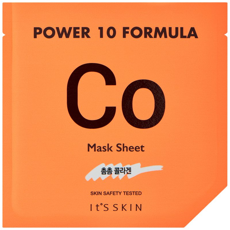 It'S SKIN Power 10 Formula Mask Sheet Co i gruppen K-Beauty / Skincare step 1-10 / Step 7 - Sheet masks hos Bangerhead (B046640)