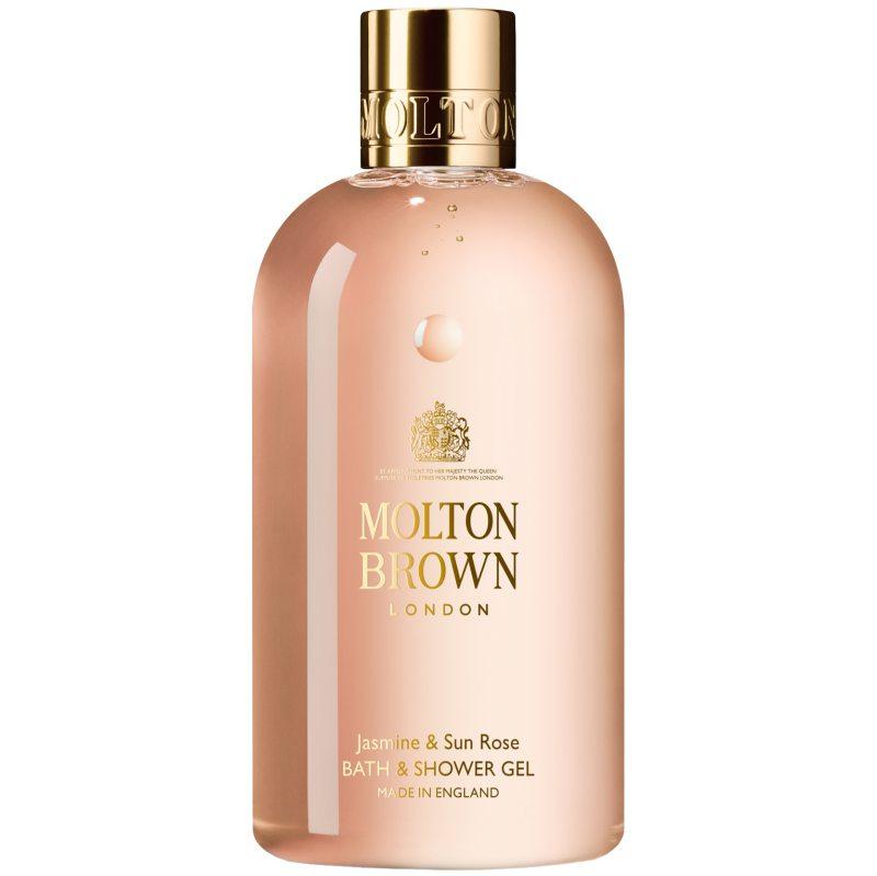 Molton Brown Jasmine & Sun Rose Bath & Shower Gel (300ml) ryhmässä Vartalonhoito  / Vartalonpuhdistus & -kuorinta / Suihkusaippua at Bangerhead.fi (B046661)