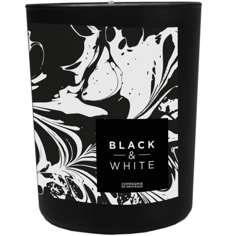 Compagnie de Provence Scented Candle Black Tea ryhmässä Tuoksut / Tuoksukynttilät ja tuoksutikut / Tuoksukynttilät at Bangerhead.fi (B046743)