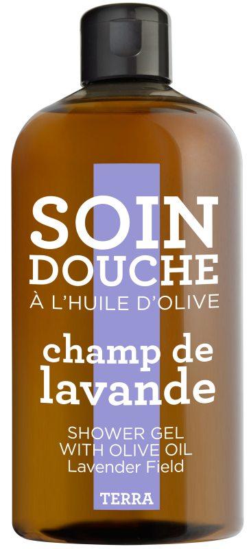 Compagnie de Provence Terra Shower Gel Lavender Field (300ml) ryhmässä Vartalonhoito & spa / Vartalon puhdistus / Kylpysaippuat & suihkusaippuat at Bangerhead.fi (B046749)