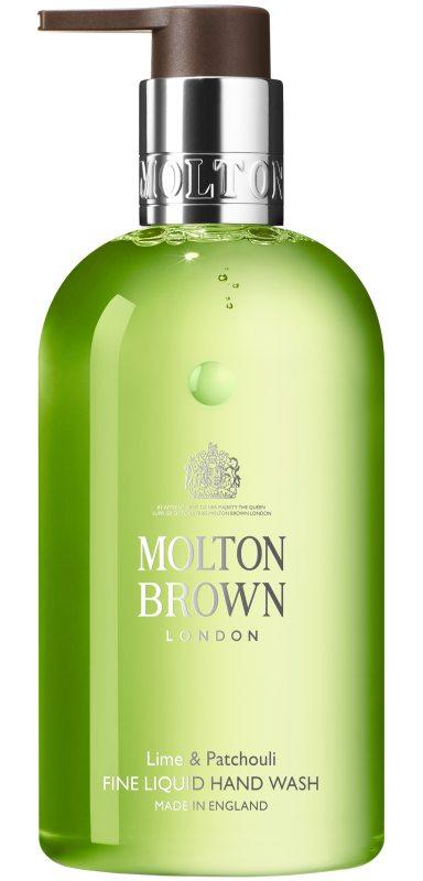 Molton Brown Lime & Patchouli Fine Liquid Hand Wash (300ml) i gruppen Kroppsvård & spa / Händer & fötter / Handtvål hos Bangerhead (B046765)