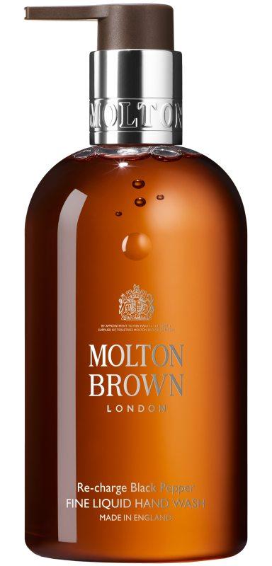 Molton Brown Black Pepper Fine Liquid Hand Wash (300ml) i gruppen Kroppsvård & spa / Händer & fötter / Handtvål hos Bangerhead (B046779)