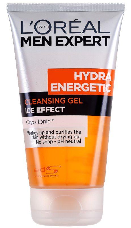 LOréal Men Expert Hydra Energetic Cleansing Gel (150ml) ryhmässä Miehet / Ihonhoito miehille / Puhdistustuotteet miehille at Bangerhead.fi (B046829)