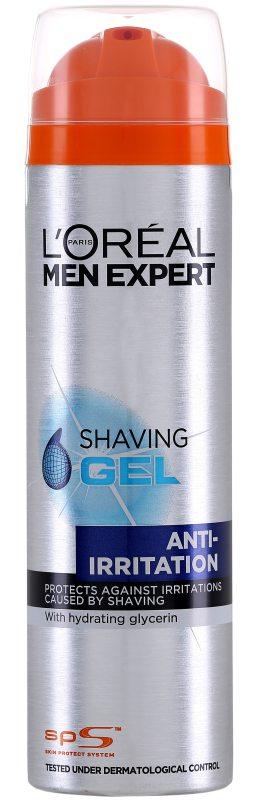 LOréal Men Expert Hydra Energetic Shaving Gel (200ml) ryhmässä Miehet / Parranajo & grooming miehille / Partavaahdot & geelit miehille at Bangerhead.fi (B046830)