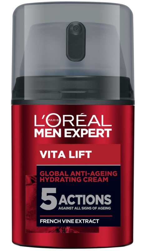 L'Oréal Men Expert Vita Lift 5 Anti-Ageing Cream (50ml) ryhmässä Miehet / Ihonhoito miehille / Kasvovoiteet miehille at Bangerhead.fi (B046834)