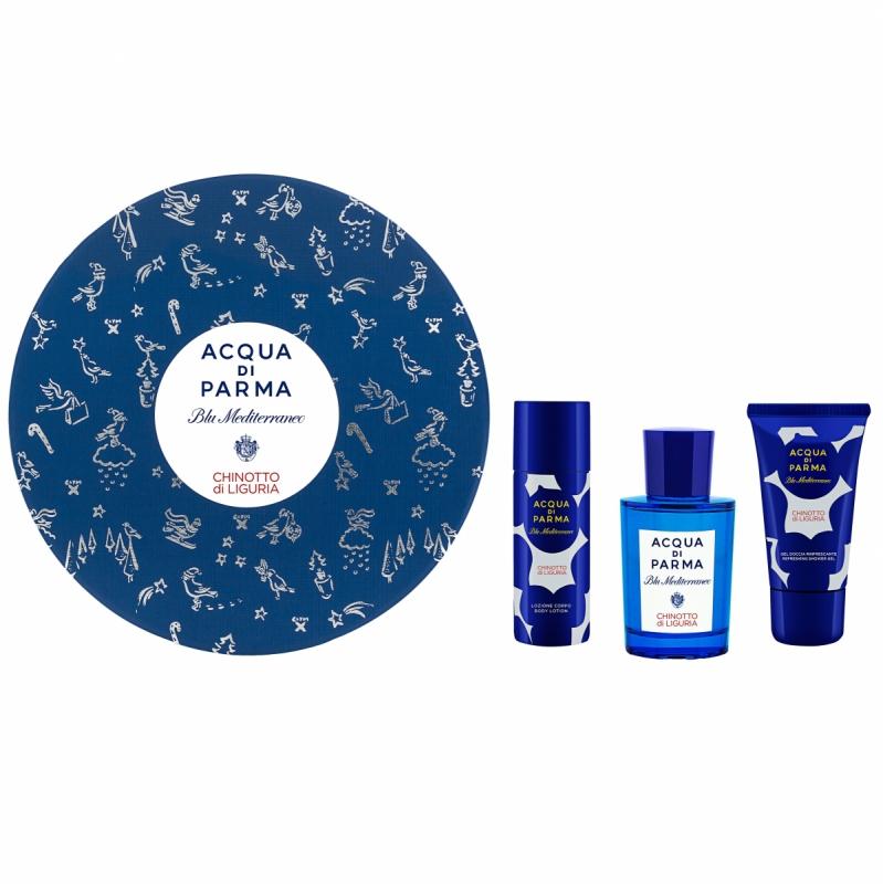 Acqua di Parma Blu Mediterraneo Chinotto Di Liguria Coffret  i gruppen Parfym / Gift set & kits hos Bangerhead (B047013)