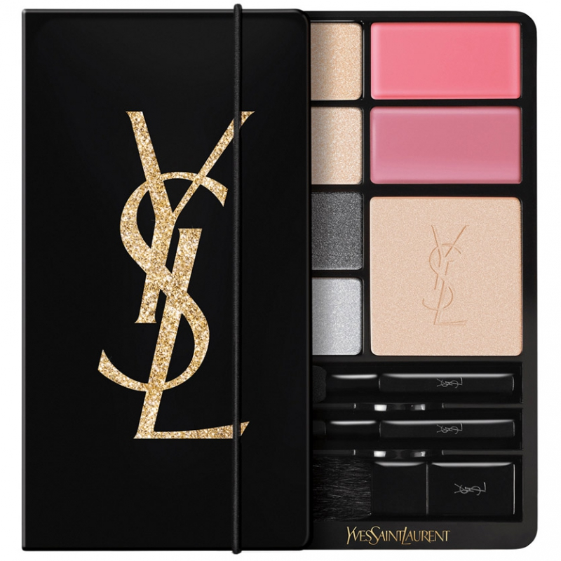 Yves Saint Laurent Gold Attraction Makeup Palette Limited Edition ryhmässä Meikit / Poskipäät / Kasvopaletit at Bangerhead.fi (B047104)