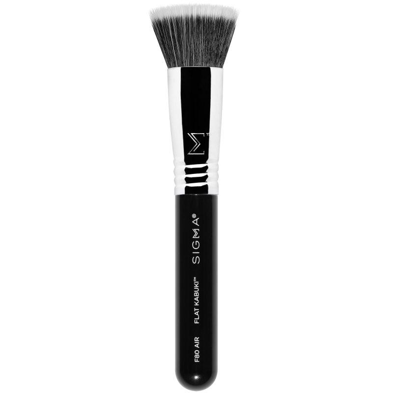Sigma Beauty F80 Air Flat Kabuki i gruppen Makeup / Borstar & verktyg / Borstar för ansiktsmakeup hos Bangerhead (B047274)