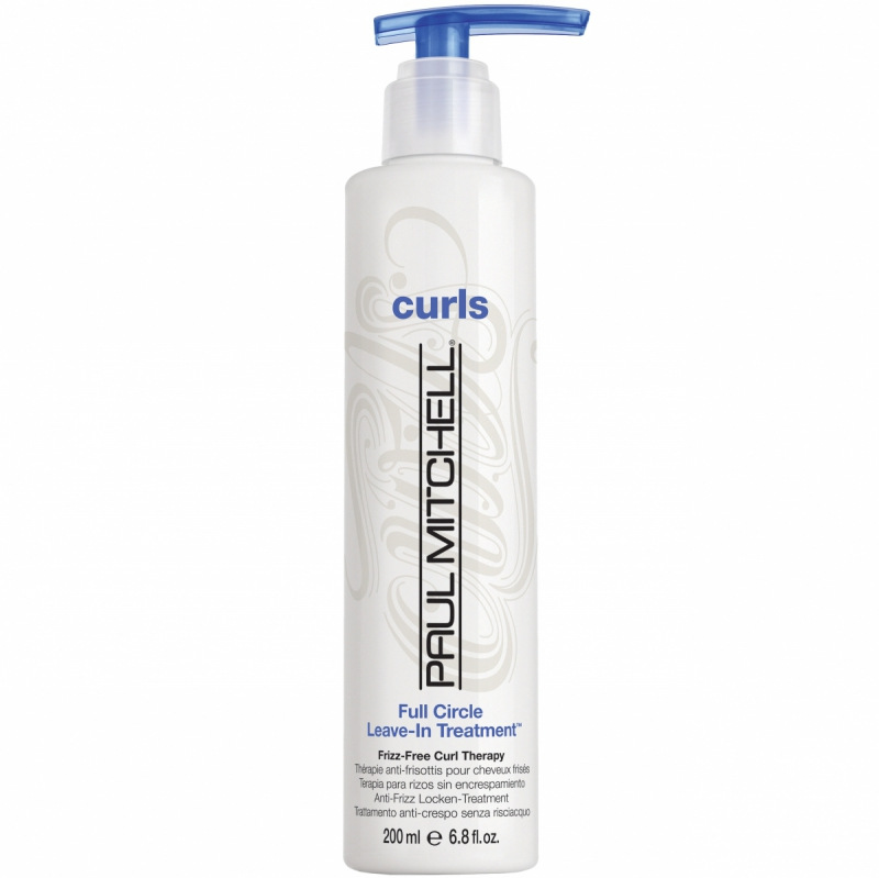 Paul Mitchell Curls Full Circle Leave-In Treatment (200ml) ryhmässä Hiustenhoito / Hiusnaamiot ja hoitotuotteet / Hoitotiivisteet at Bangerhead.fi (B047699)