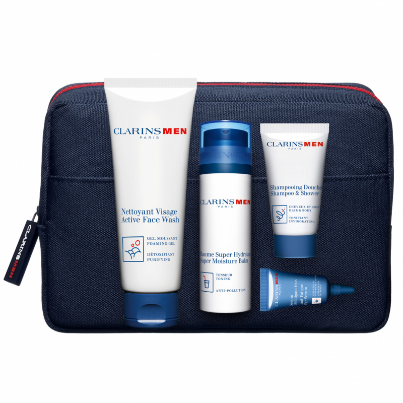 Clarins Men Grooming Gear Set i gruppen Hudvård / Presenter & hudvårdskit / Gift sets hos Bangerhead (B047913)