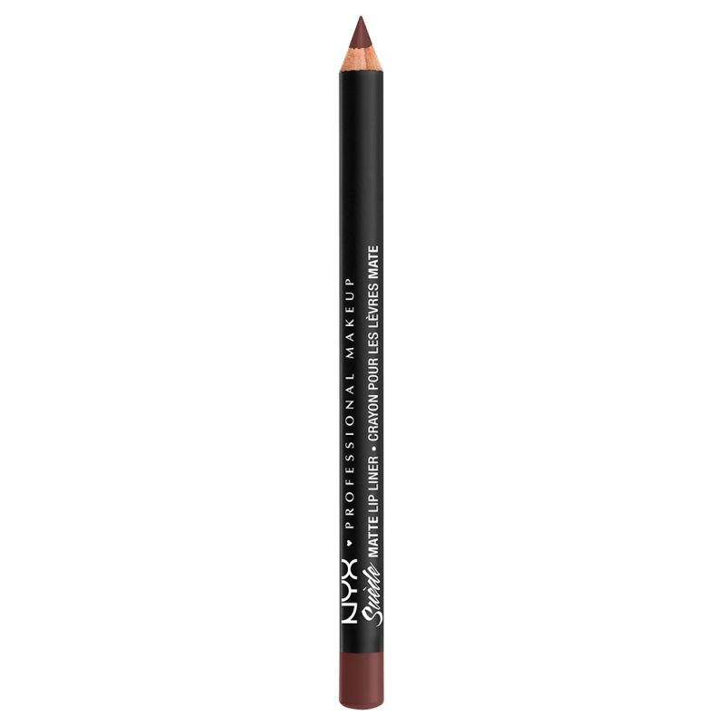 NYX Professional Makeup Suede Matte Lip Liner ryhmässä Meikit / Huulet / Huultenrajauskynät at Bangerhead.fi (B039302r)
